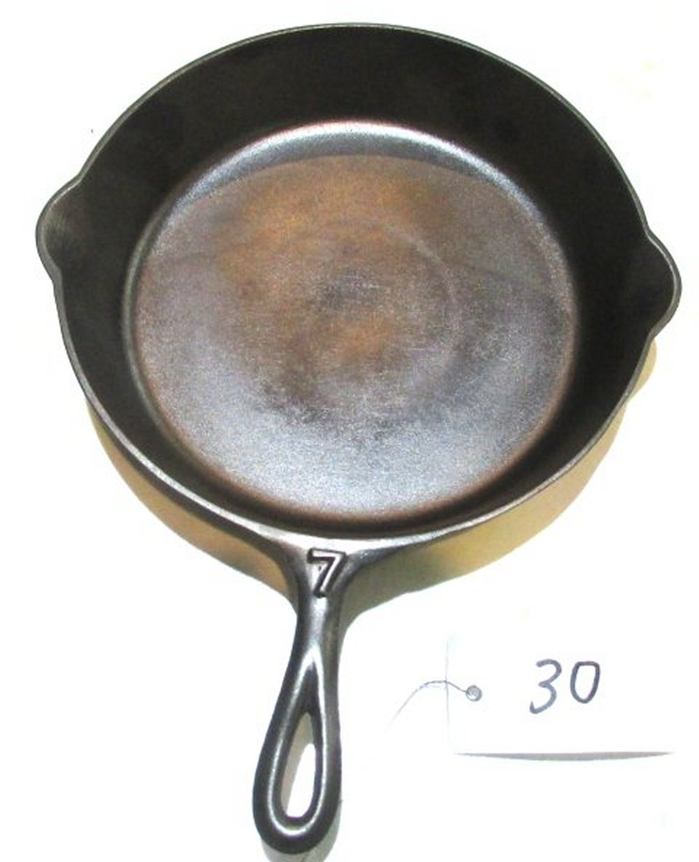 #7 Skillet with Heat Ring