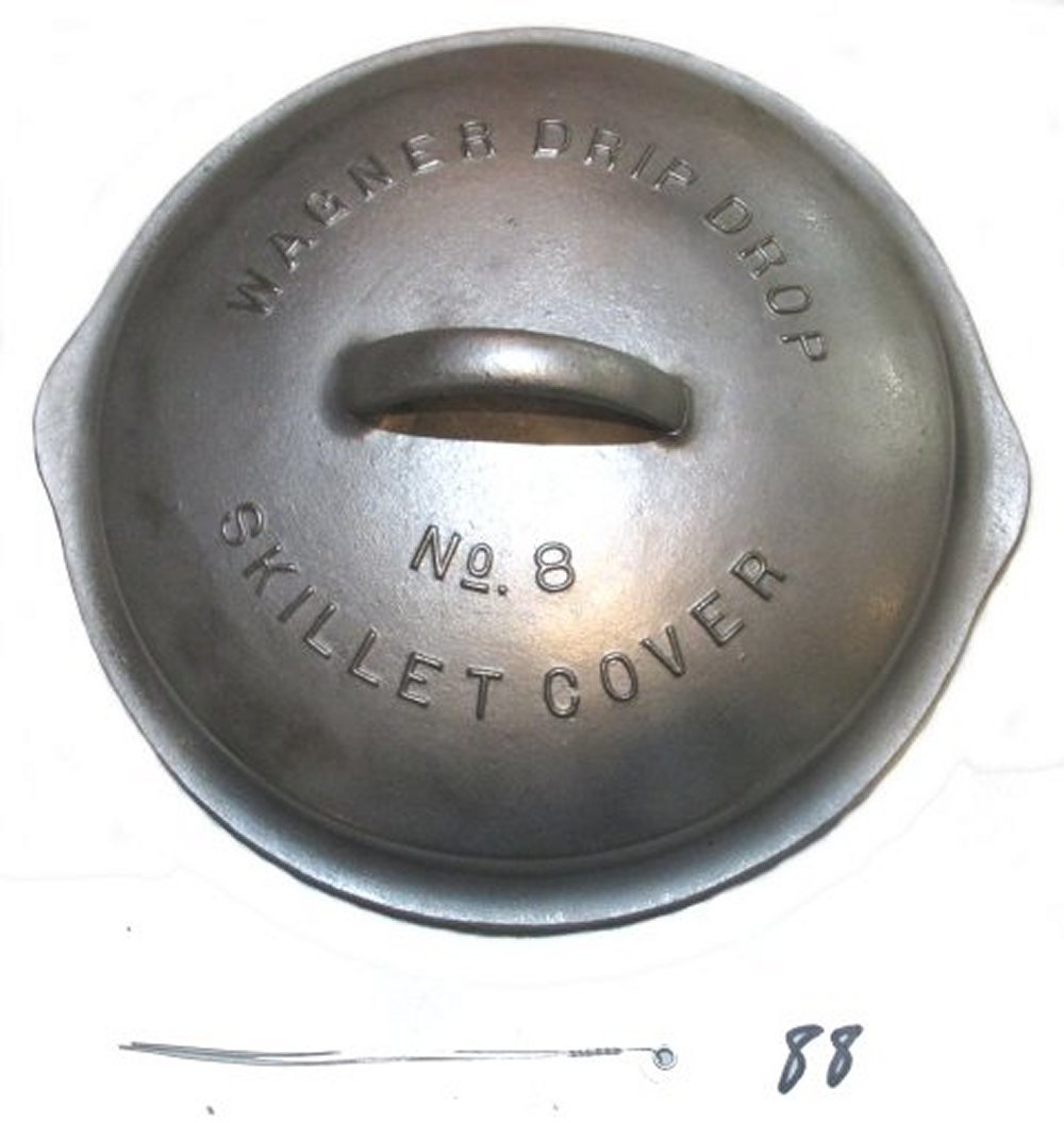 #8 Wagner Drip Drop Skillet Cover
