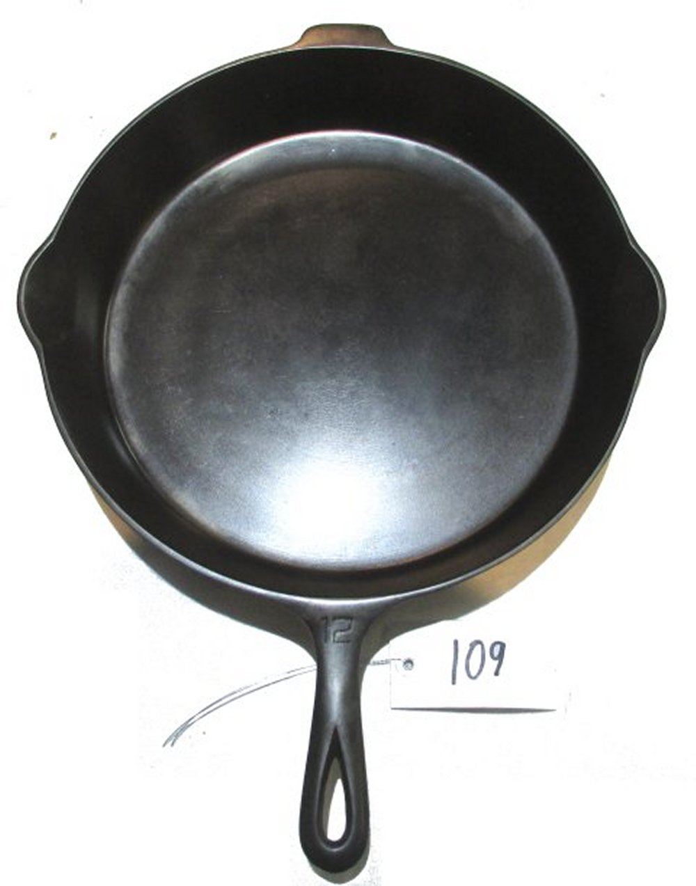 #12 Griswold EPU LBL Skillet with Heat Ring