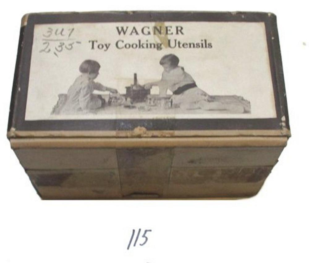 Original Wagner Toy Set Box