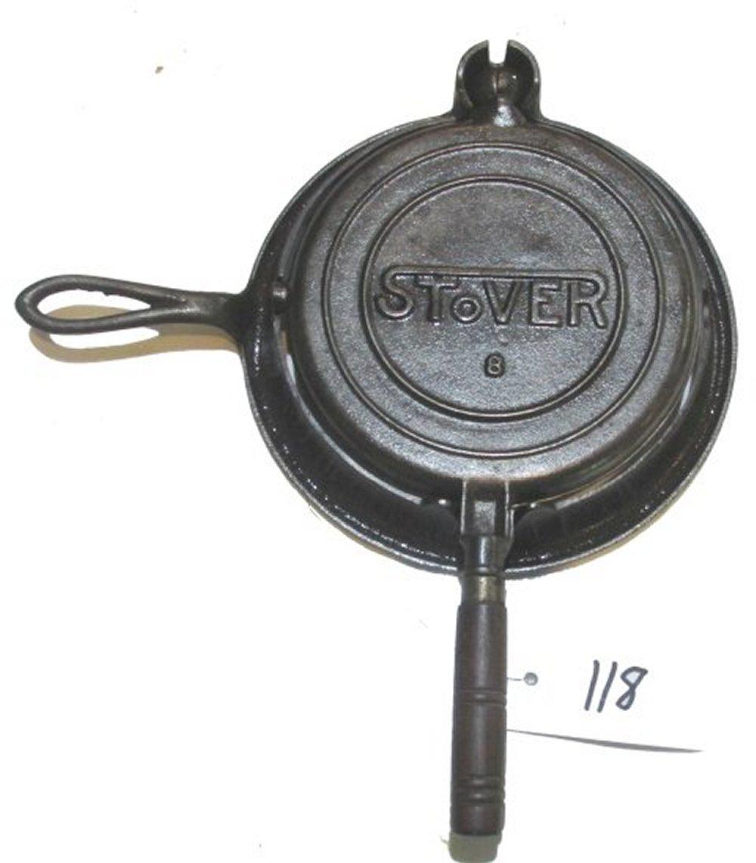 #8 Stover Waffle Iron