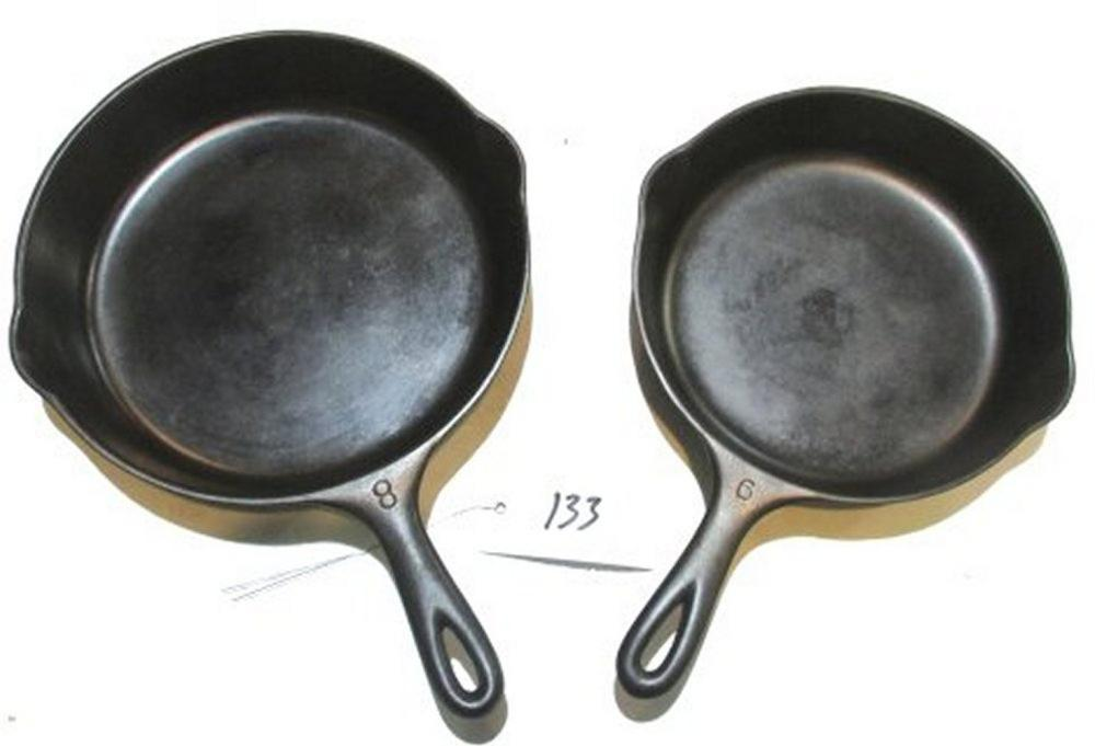 #6 and #8 Wagner Skillets