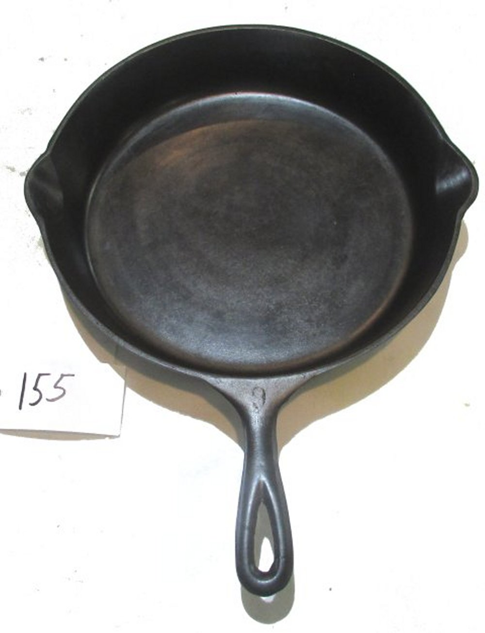 #9 Unmarked Skillet with Heat Ring