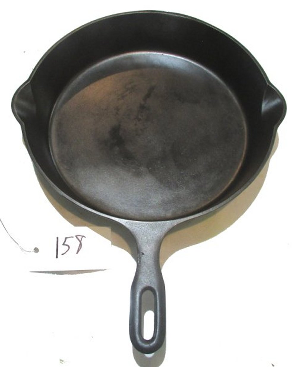 #10 Iron Mountain Skillet with Heat Ring