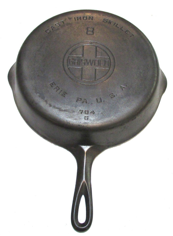 Lot 336: #8 Griswold EPU LBL Skillet