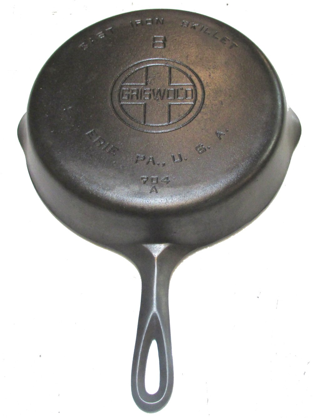 Lot 396: #8 Griswold LBL Smooth Skillet