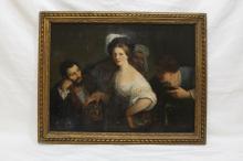 Xavier Sigalon (Fr. 1787-1837) La Jeune Courtesane