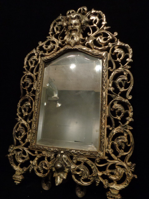 Antique bradley hubbard bacchus mirror for Bradley mirror