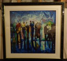 William Tolliver Signed Lithograph Print