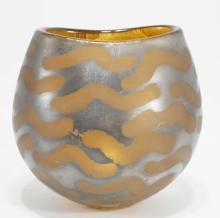 Adam Aaronson Studio Art Glass Vase