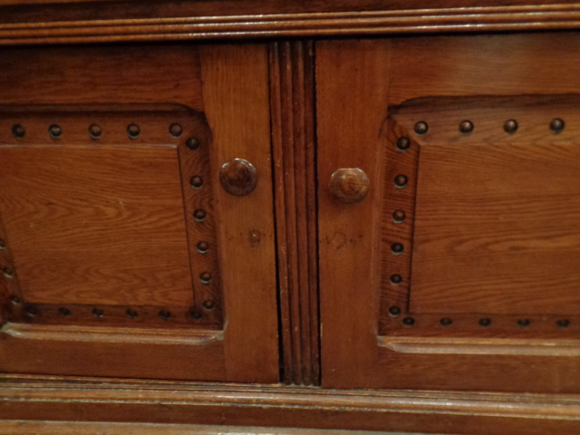 antiqued kitchen cabinets antique oak cabinet 10693