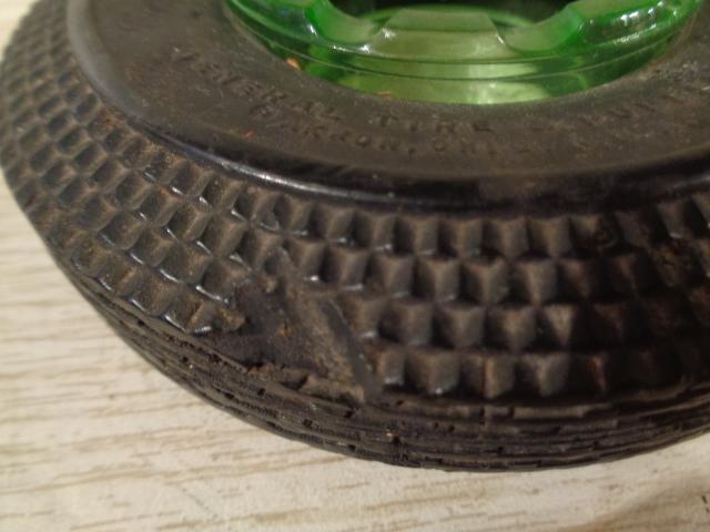 General Streamline Jumbo Tire Ashtray