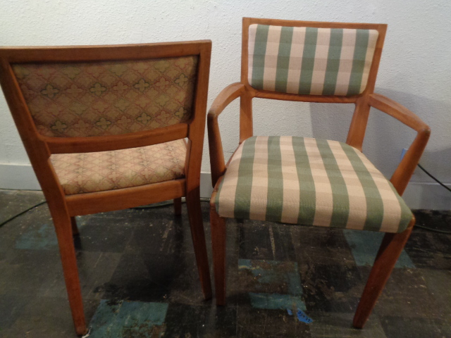 Edward wormley precedent dining chairs for District 8 furniture