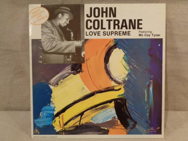 Vintage 1960s John Coltrane Albums