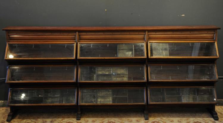Antique Store Display Biscuit Cabinet