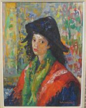 Luigi Corbellini (Italy 1901-1968) Oil on Canvas
