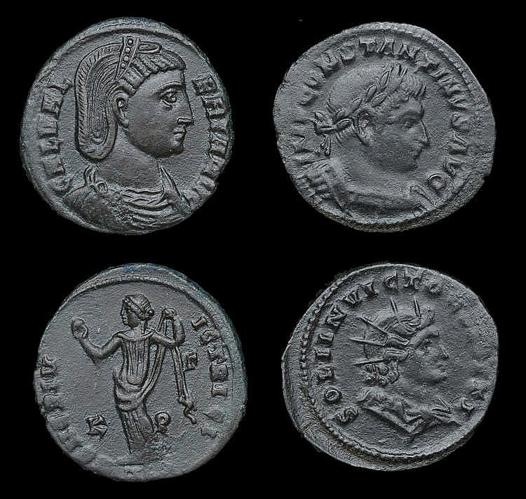Ancient Coins from Various Properties