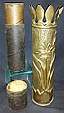WWI US Trench Art Artillery Shell