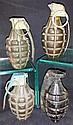 Four Hand Grenades