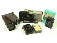 4-Piece Lot of Pocket TV/Radios