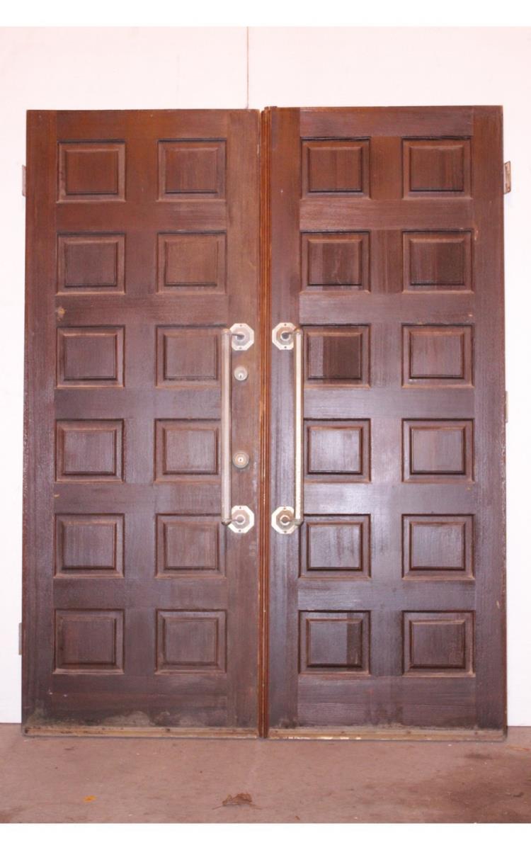 Pair of 12 panel doors for 12 panel door