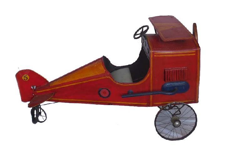AIRPLANE PEDAL CAR
