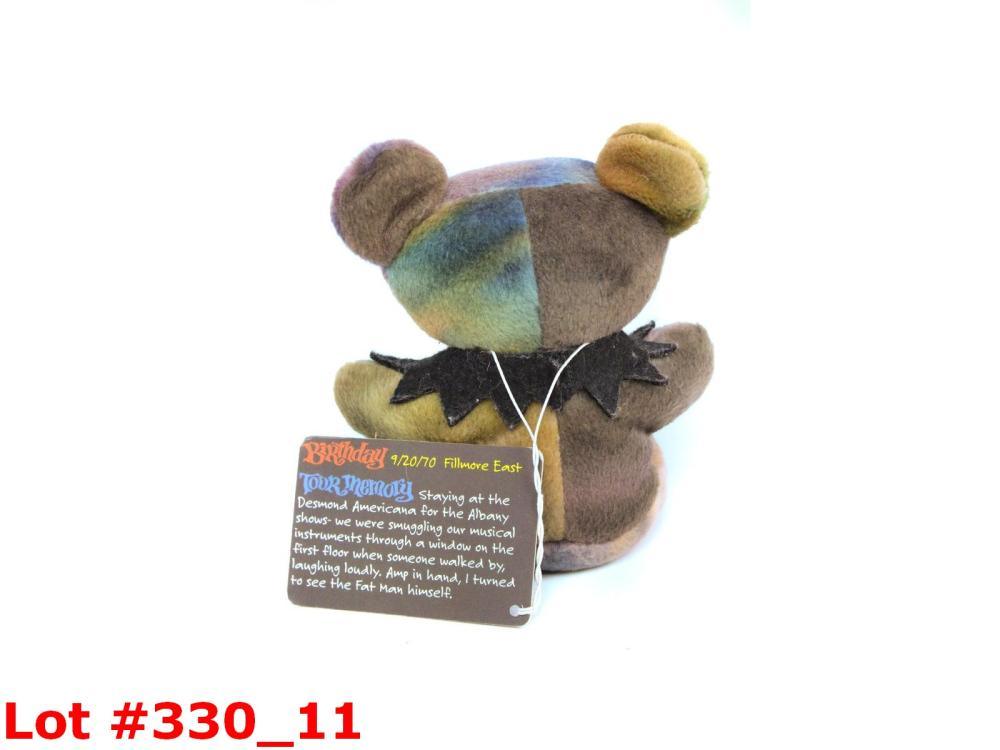 5 Grateful Dead Collector Teddy Bears