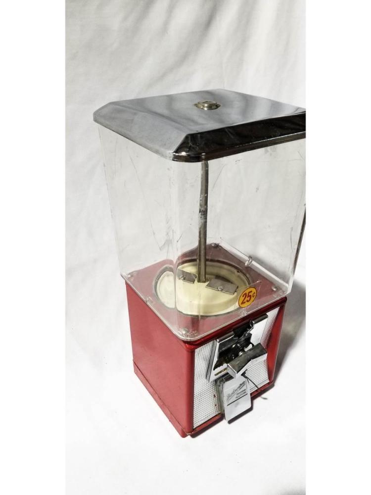 25 Cent Northwestern Gumball Machine