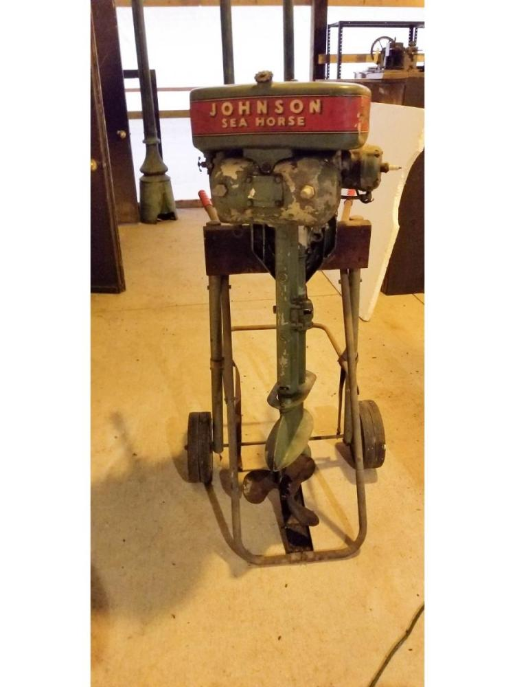 Johnson sea horse outboard motor for 4 horse boat motor