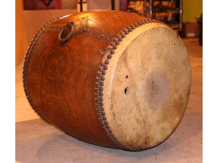Vintage wood drum for Classic house drums