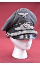 German Luftwaffe Officers Crusher Cap