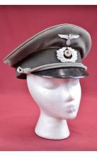 WWII German Army Wool Crusher Cap