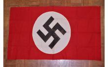 Nazi NSDAP Political Party Swastika Banner Flag