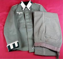 Nazi NCO Parade Dress Uniform & Matching Pants