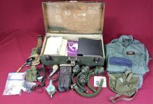 WWII US Air Force Footlocker & Huge Assortment