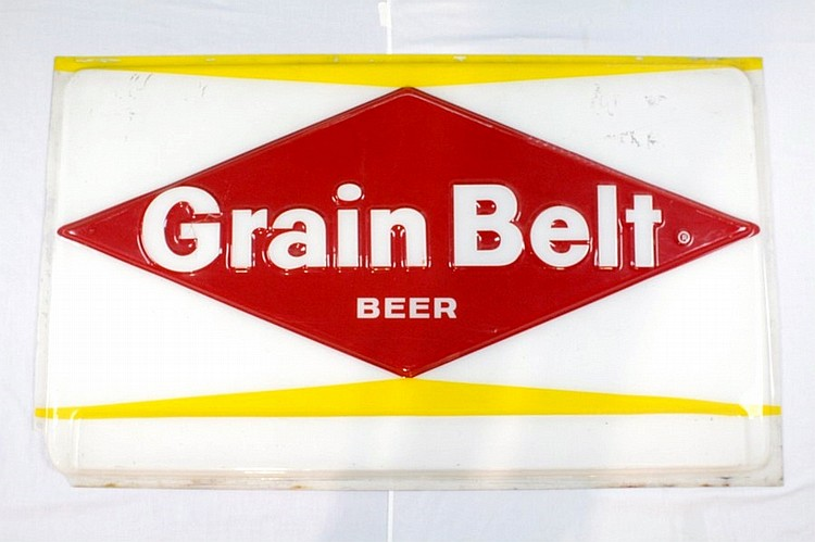 Grainbelt Beer Plastic Sign