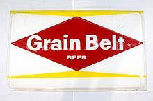 Grainbelt Beer Plastic Sign