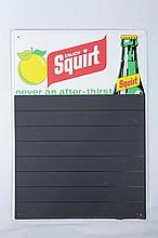 Squirt Advertising Menu Sign