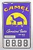 Camel Cigarettes Genuine Taste Store Sign