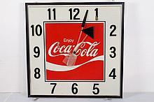 Electric Coca Cola Hanging Wall Clock