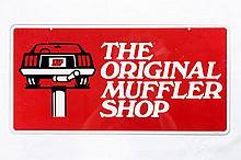 Original Muffler Shop DS Tin Sign