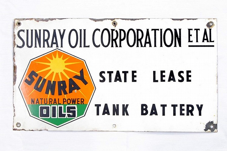 Original DX Sunray Lease SSP Sign