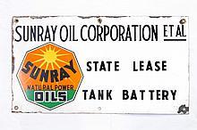 Original DX Sunray Lease SSP Sign