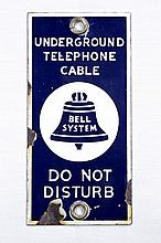 Bell Telephone System SSP Sign