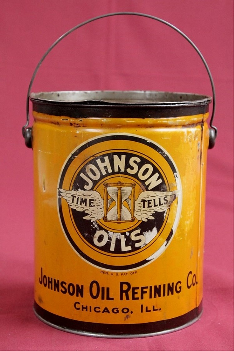 Original Johnson 10lb Grease Can