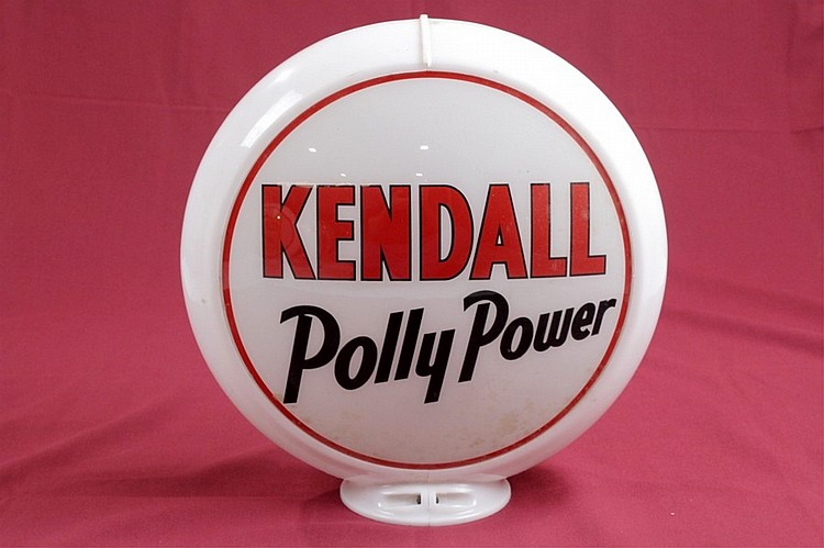 Kendall Polly Power Gas Pump Globe Orig. Capco