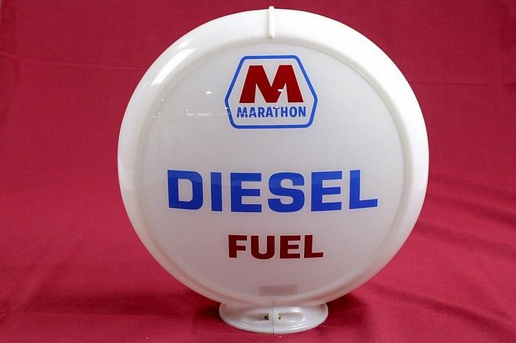 Marathon Diesel Gas Pump Globe Orig. Capco