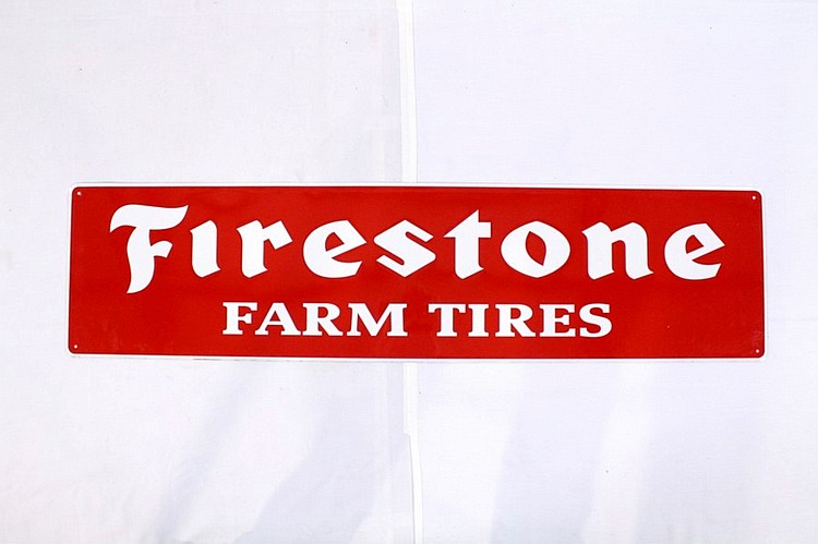 Firestone Farm Tires SST Sign