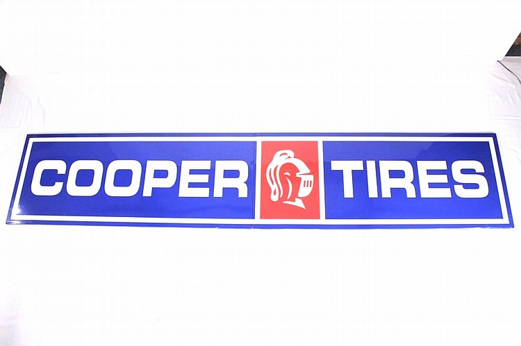 Cooper Tires 2-Piece SSP Sign