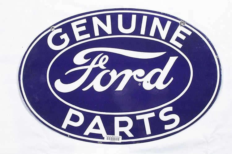 Ford Genuine Parts Oval DSP Sign